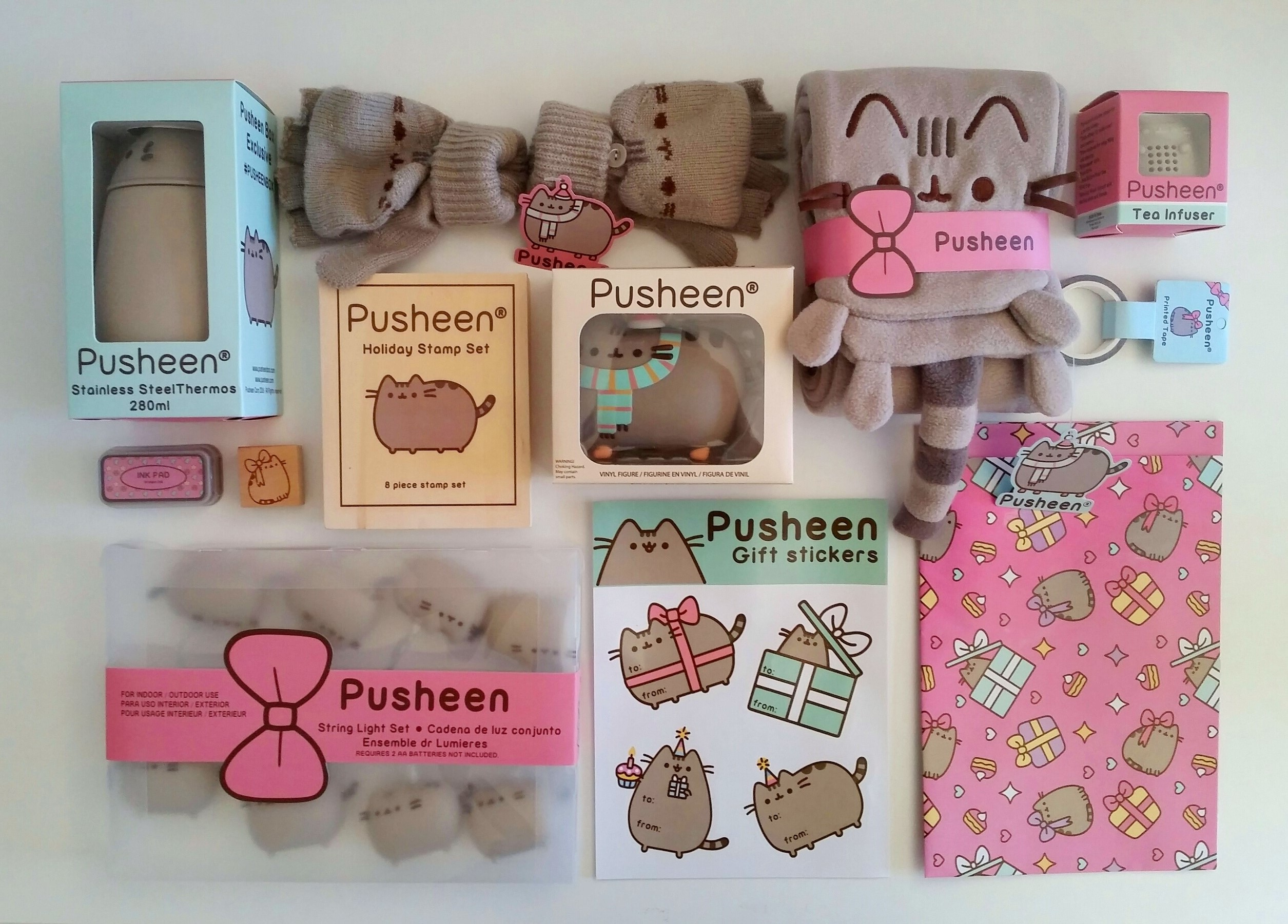 Pusheen Box Winter 2016 Dreamingofcats